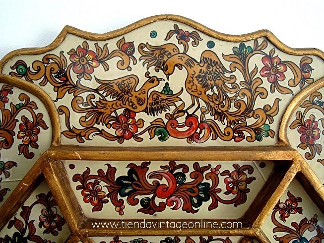 Espejos vintage online, espejos decorativos, coloridos, originales.