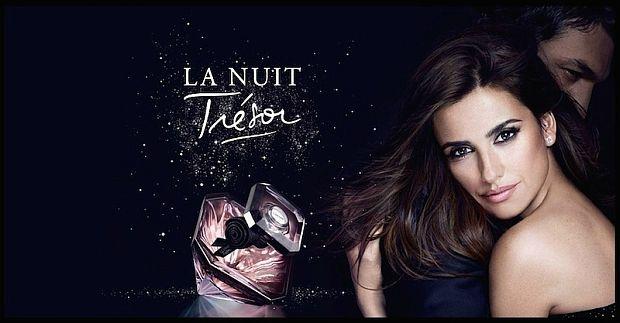 Penelope Cruz i Ilay Kurelović w kampanii La Nuit Tresor