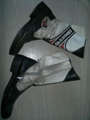 Mcstövlar till motorcykelkläder, Bieffe är märket, storlek 42