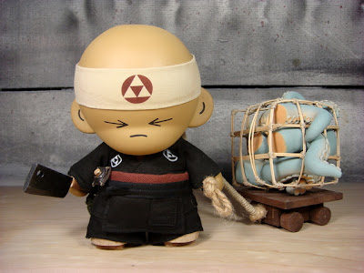 The Huck Gee Project: The Sushi Chef Custom Munny Vinyl Figure