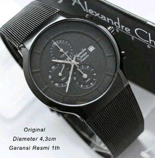 jual jam tangan wanita ori alexandre christie 6245