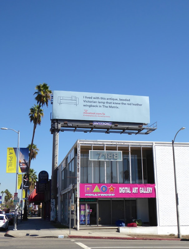 Move Loot The Matrix billboard