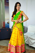 Reetu varma sizzling in half saree-thumbnail-10