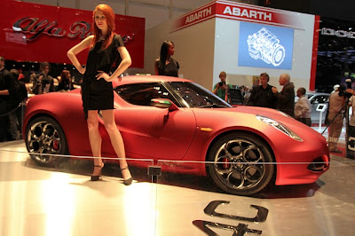 Alfa Romeo 4C will Abarth