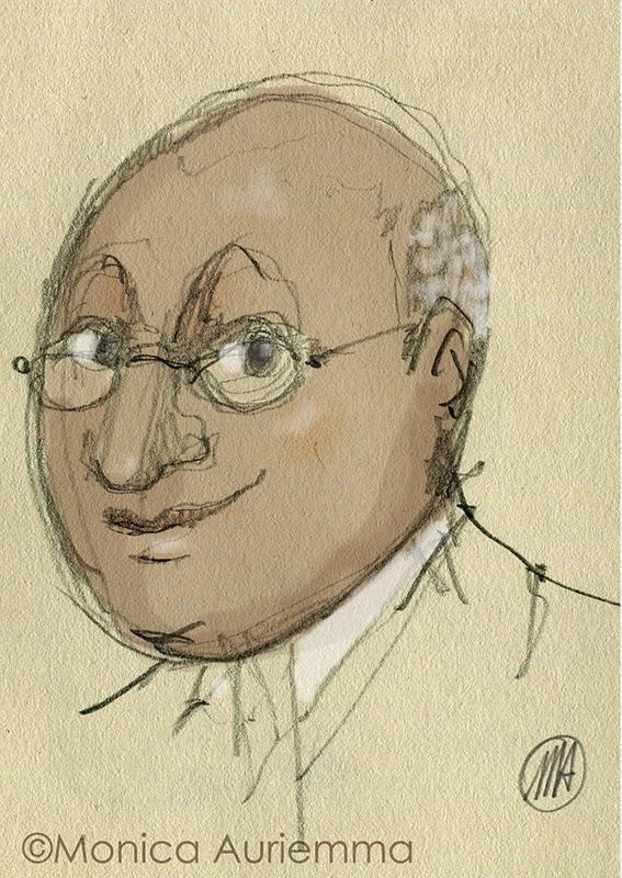 Sketchbook monicauriemma-Il Mahatma del pian terreno