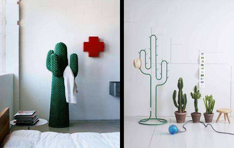 La fabrique d co faux cactus et projets diy pour la d co - Cactus porte manteau ...