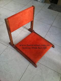 ghế pisu màu cam