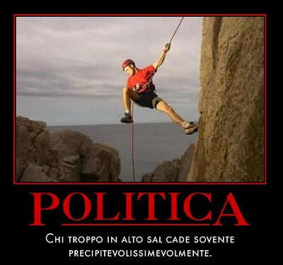 Salire in politica