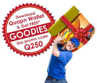 Free Grocery worth Rs. 250 at Quopn Wallet for Mumbai, Navi Mumbai and Thane.
