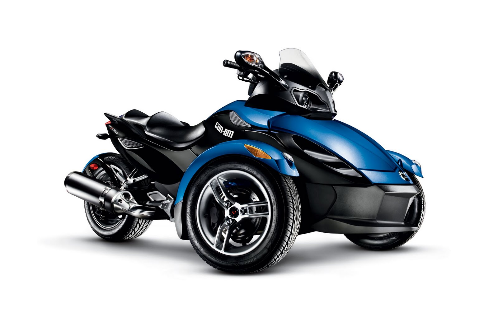 motorcycle pictures can am spyder rs roadster 2010. Black Bedroom Furniture Sets. Home Design Ideas