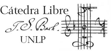 Cátedra Libre J.S. Bach