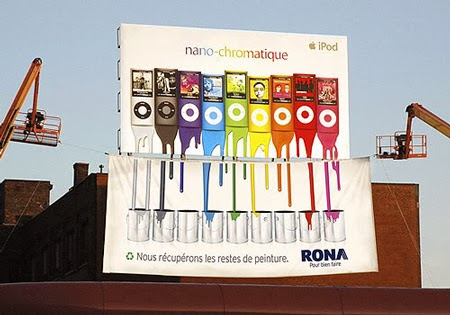Rona, we recycle your painting leftovers