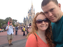 My husband and me in Disney World!