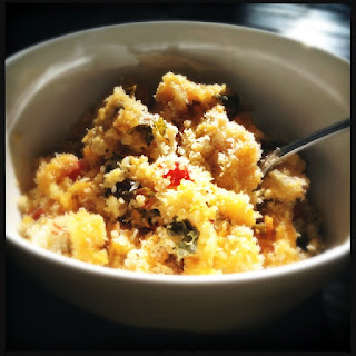 Recipe: Cheesy quinoa casserole
