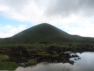 The Landscape on Floreana Island, Galapagos