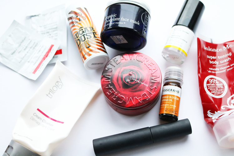 December Empties / Products I've Used Up