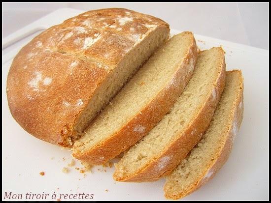 pain de campagne maison