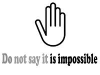 Tidak mungkin