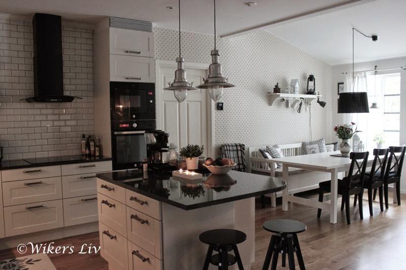Wikers liv: Köksön och ett smart pop-up-uttag