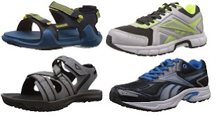 Reebok Shoes & Floaters: Minimum 50% – Upto 55% Off on Select Styles@ Amazon (Valid till 11.00 AM Today)