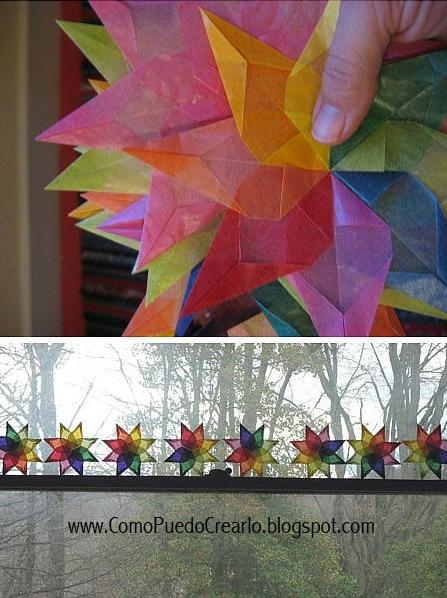 Como puedo crear decoraciones hechas de papel - Decoraciones de papel ...