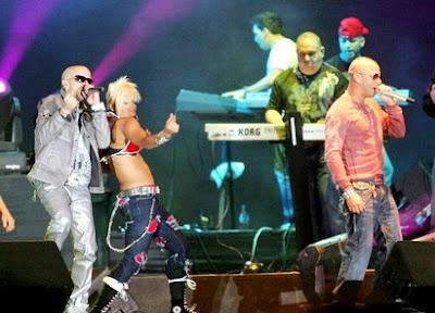 Wisin y Yandel en concierto de Lima - Perú