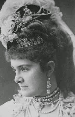 Leontine zu Fürstenberg, née comtesse Khevenhüller-Metsch 1843-1914