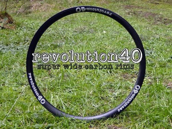 Revolution40 Carbon Rims