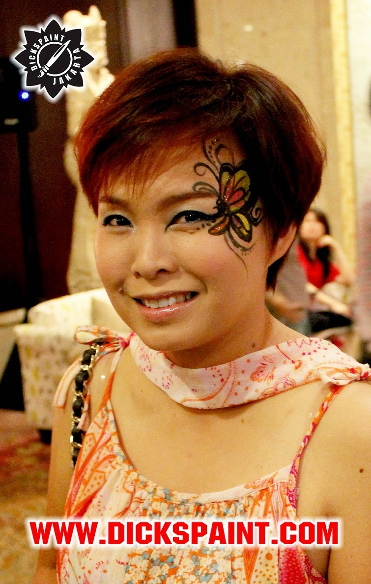 face painting jakarta dickpaint