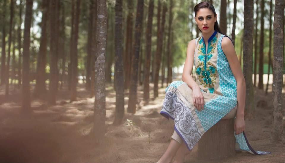 Firdous summer carnival kurti dresses