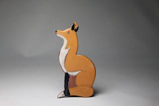 http://lowellhillpottery.com/shop/gazing-fox-ornament/