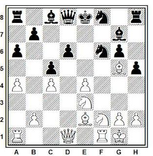 Problema ejercicio de ajedrez número 745: Ehlvest - Hasanov (Leningrado, 1982)