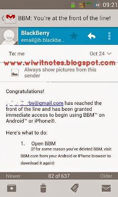 Email sakti BBM