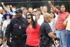Lakota Debra White Plume arrested at White House
