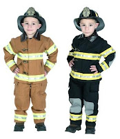 Personalized Fire Fighter Costume