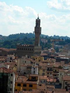 Vistas de Florencia desde el Campanile