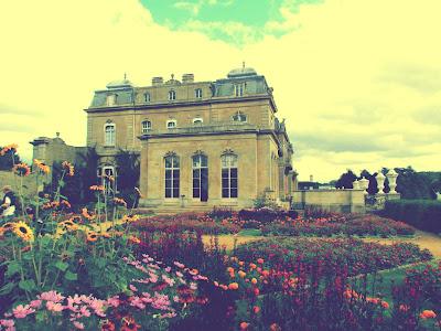 Wrest Park, English Heritage, flowers, sunflowers, visit