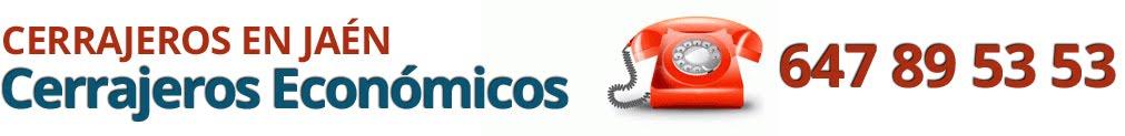 Cerrajeros Jaén - 647 89 53 53 - ECONÓMICOS 24H