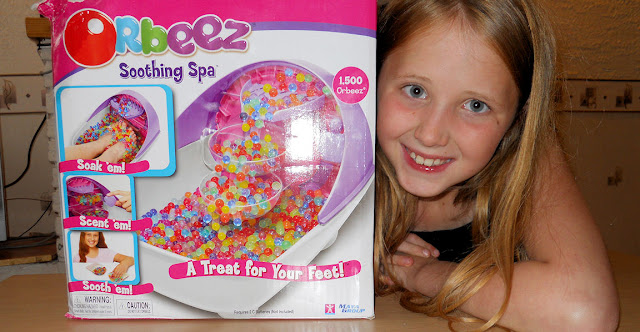 orbeez character soothing spa box