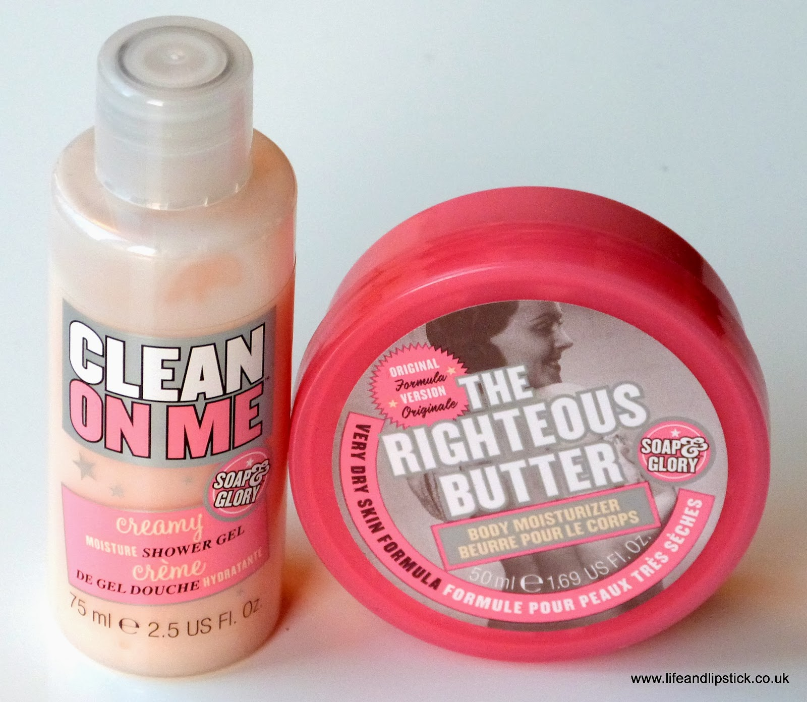 Soap and Glory Travel Minis