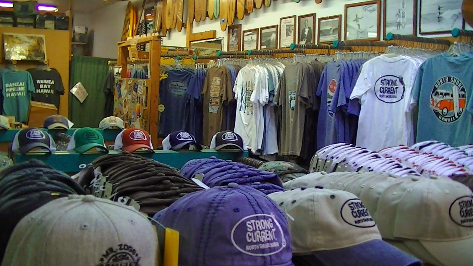 Surf Shop T-Shirt Road Trip: Strong Current Surf Shop