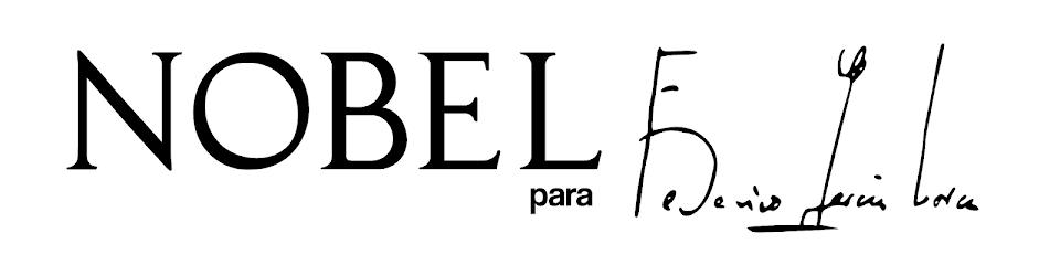 Nobel para Federico García Lorca