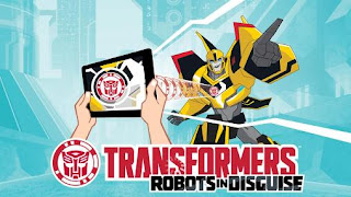 Screenshots of the Transformers: Robots in disguise for Android tablet, phone.