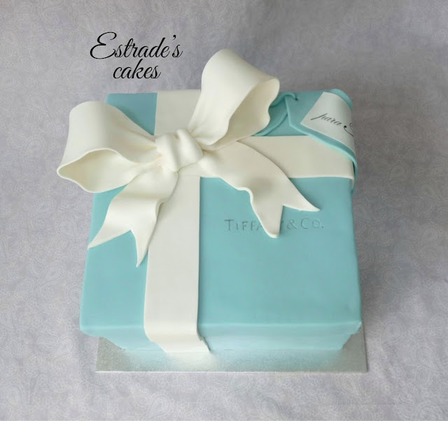 tarta caja de Tiffany 5