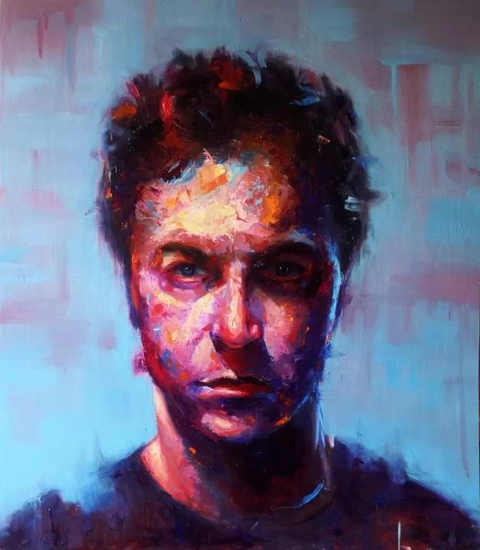 Красочные портреты. Alessio Radice