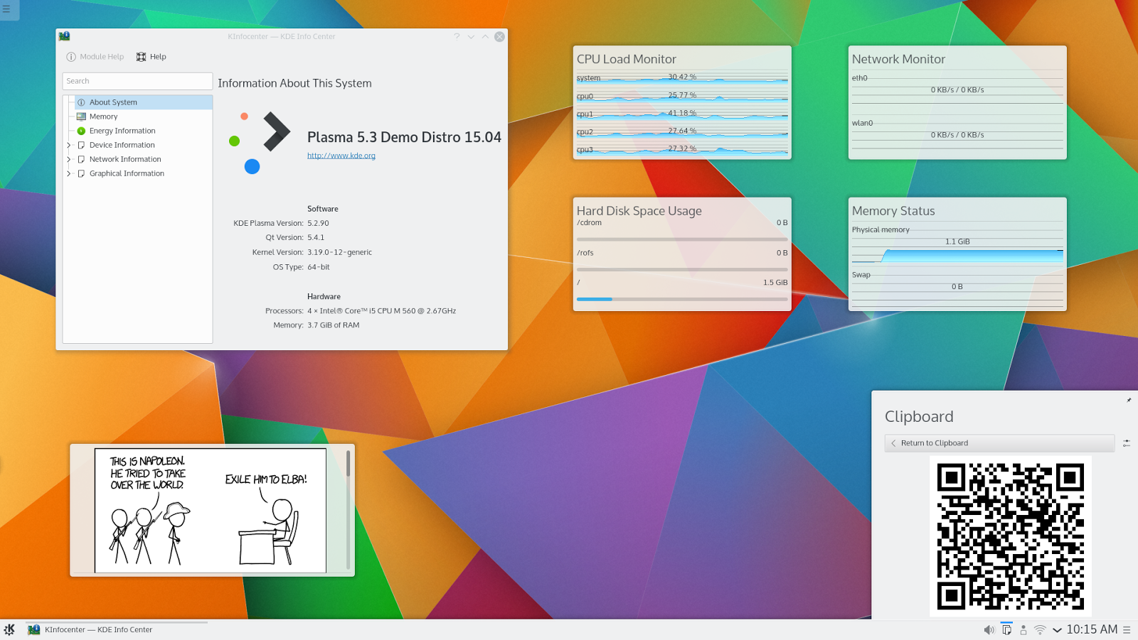 Linux tutorial terminal online installupdate kde plasma 531 on kde plasma formerly k desktop environment and kde software compilation and kde plasma workspace and applications is an open source project comprised of baditri Choice Image