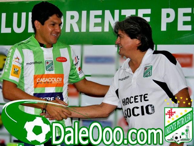 Oriente Petrolero - Richar Estigarribia - Jose Ernesto Keko Álvarez - DaleOoo.com sitio del Club Oriente Petrolero