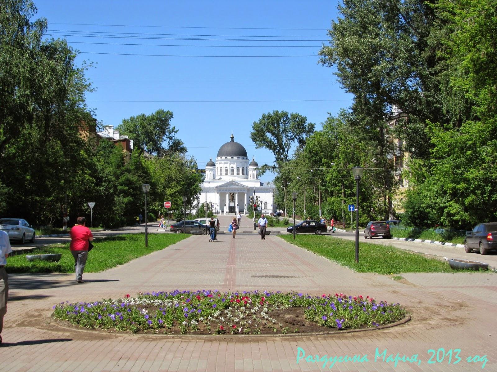 Нижний Новгород Собор Спаса Всемилостивого