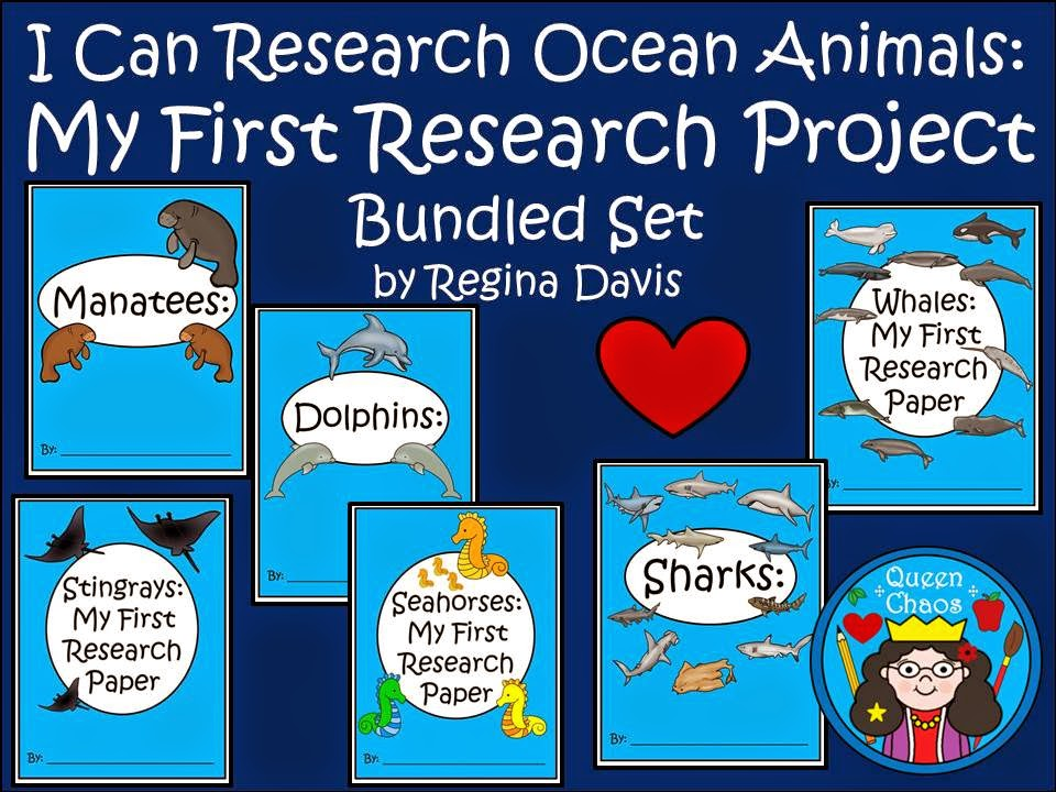 http://www.teacherspayteachers.com/Product/A-I-Can-Research-Ocean-Animals-Bundled-Set-Writing-Paper-1247098