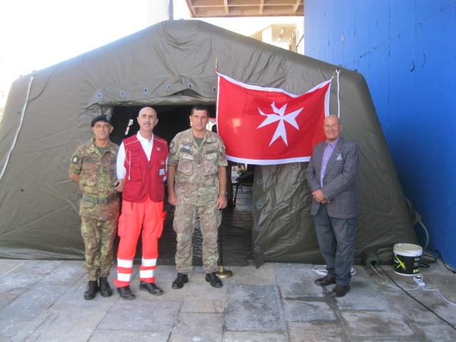 Il direttore del blog international in visita allo stand del C.M. drll'ACISMOM